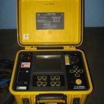 Tester izolacije C.A. 6550 10 kV Chavin Arnoux Instrument za mjerenje otpora izolacije (10 kΩ - 25 TΩ), indeksa polarizacije, odnosa dielektrične absorpcije itd.
